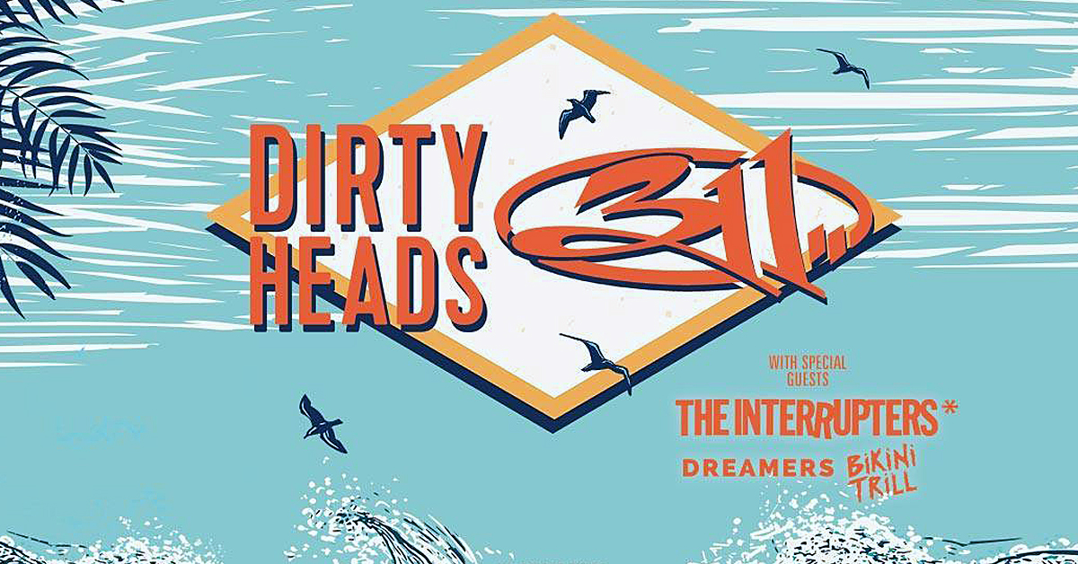 311 and Dirty Heads at Jones Beach