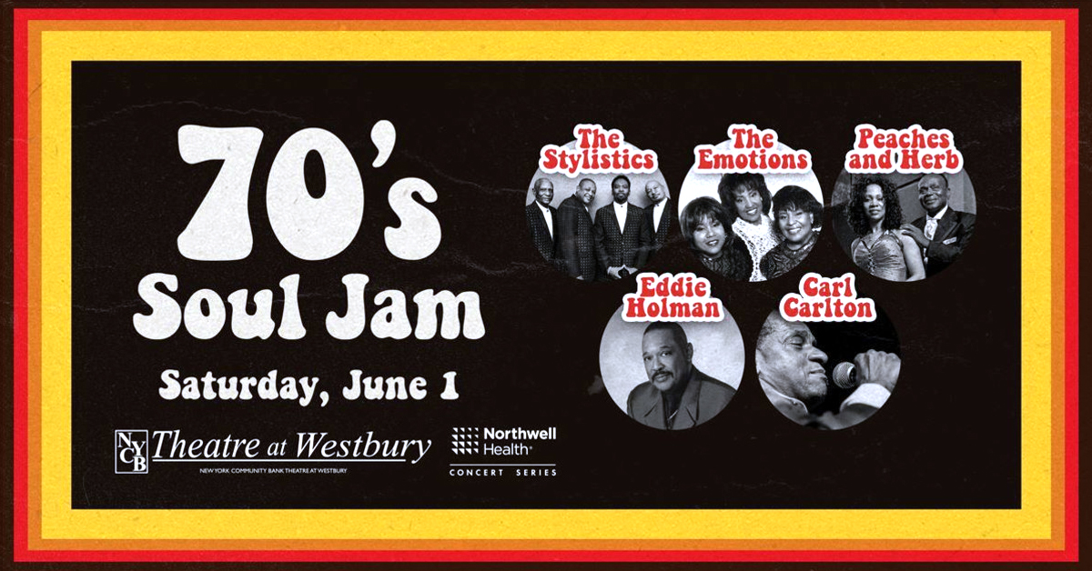 70' Soul Jam at the Theatre at Westbury