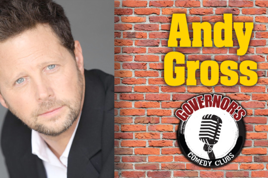 Andy Gross at Governors Comedy Club