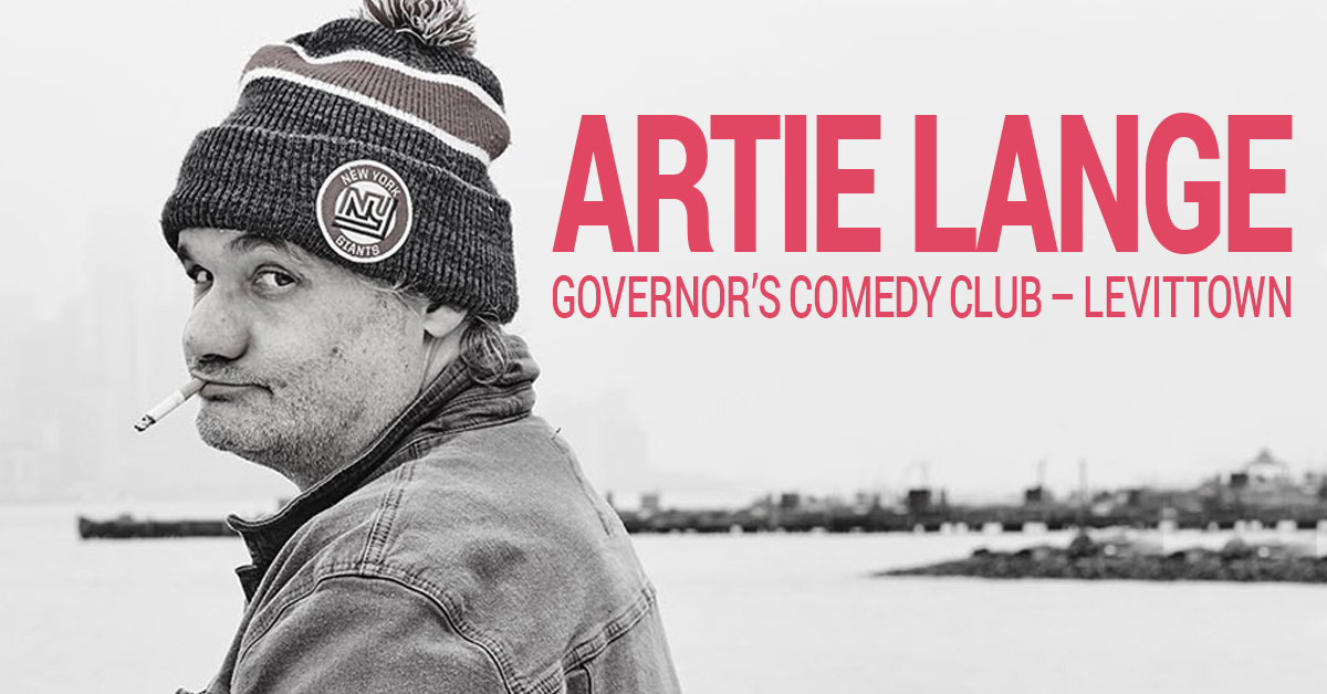 Artie Lange at Governors Comedy in Levittown