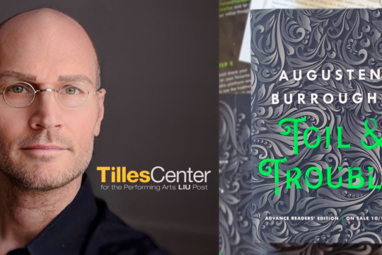 Augusten Burroughs at Tilles Center at LIU