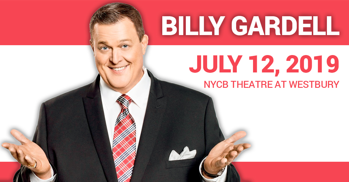 Billy Gardell at the The Theatre at Westbury