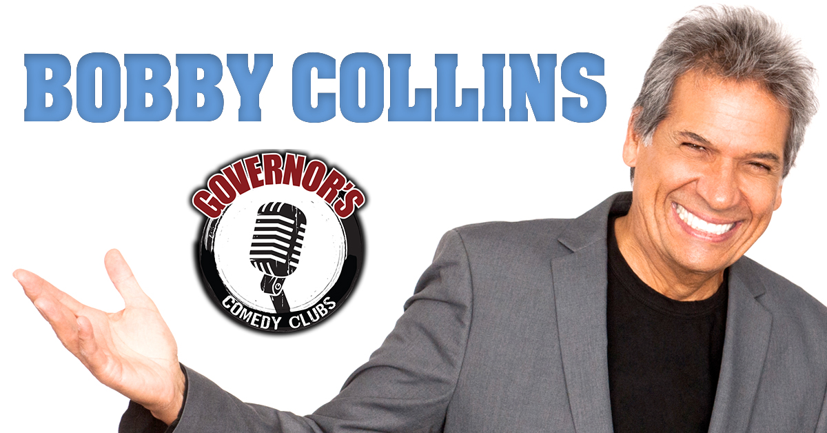 Bobby Collins at Governor's Comedy Club in Levittown