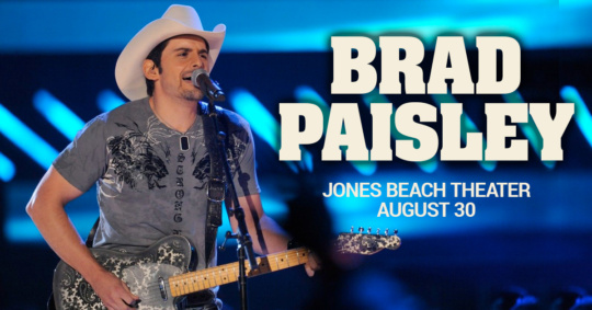 Brad Paisley at Jones Beach