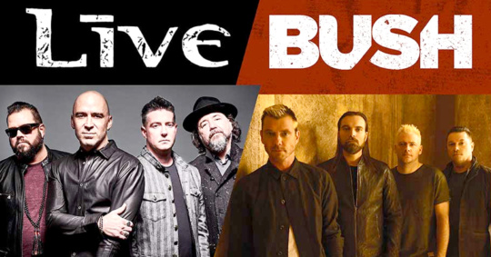 Bush & Live at Jones Beach Theatre