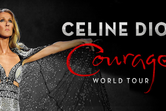 Celine Dion Courage World Tour at NYCB Live Nassau Coliseum.