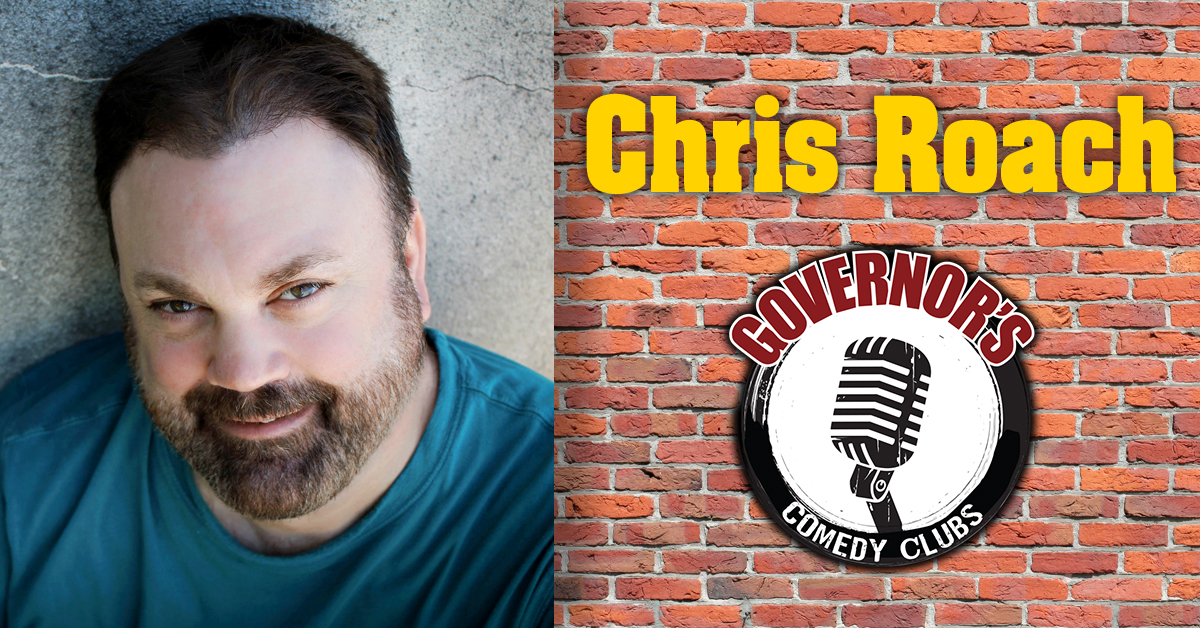 Chris Roach at Governor's Comedy Club in Levittown