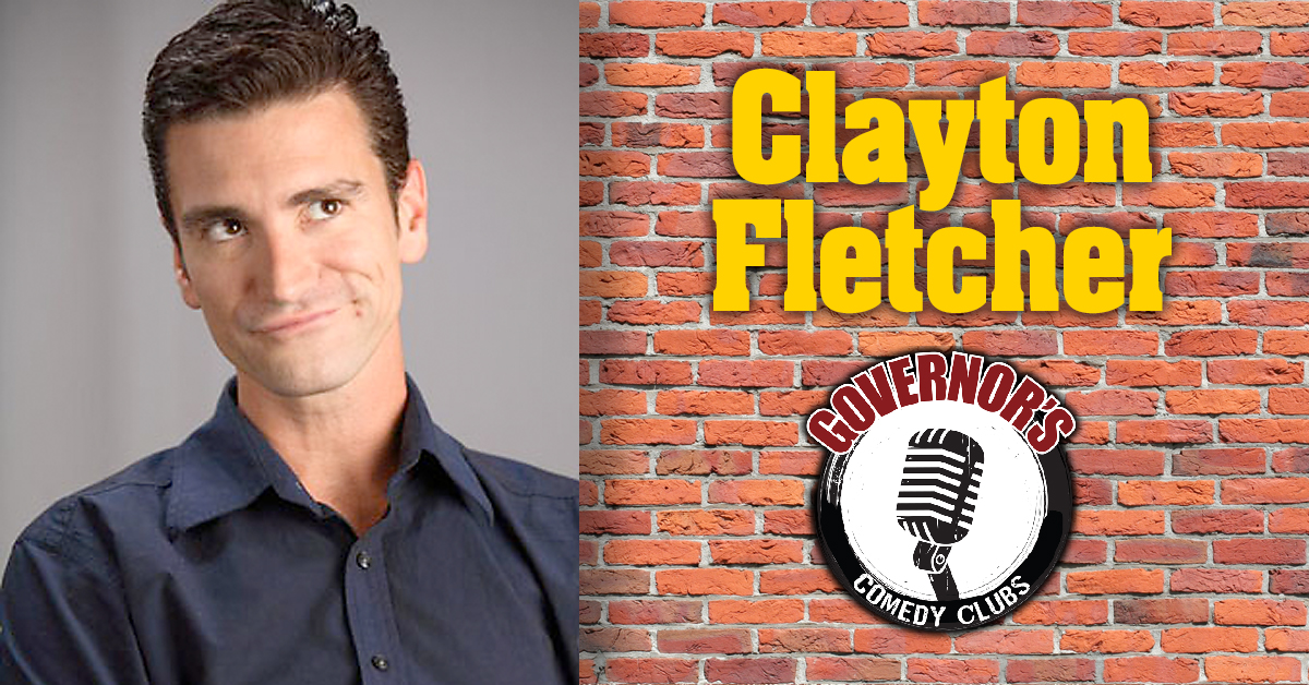 Clayton Fletcher at Governors Comedy Club