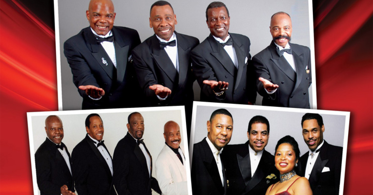 Cornell Gunter's Coasters, The Drifters & The Platters at the Tilles Center