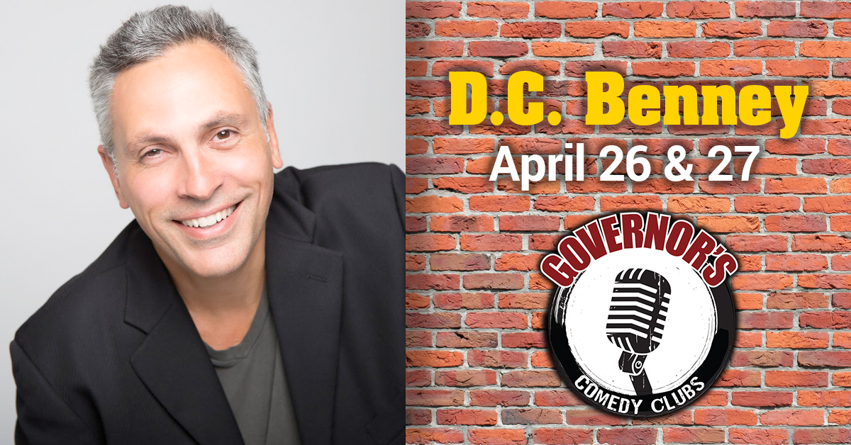 DC Benney at Governors Comedy Club Levittown