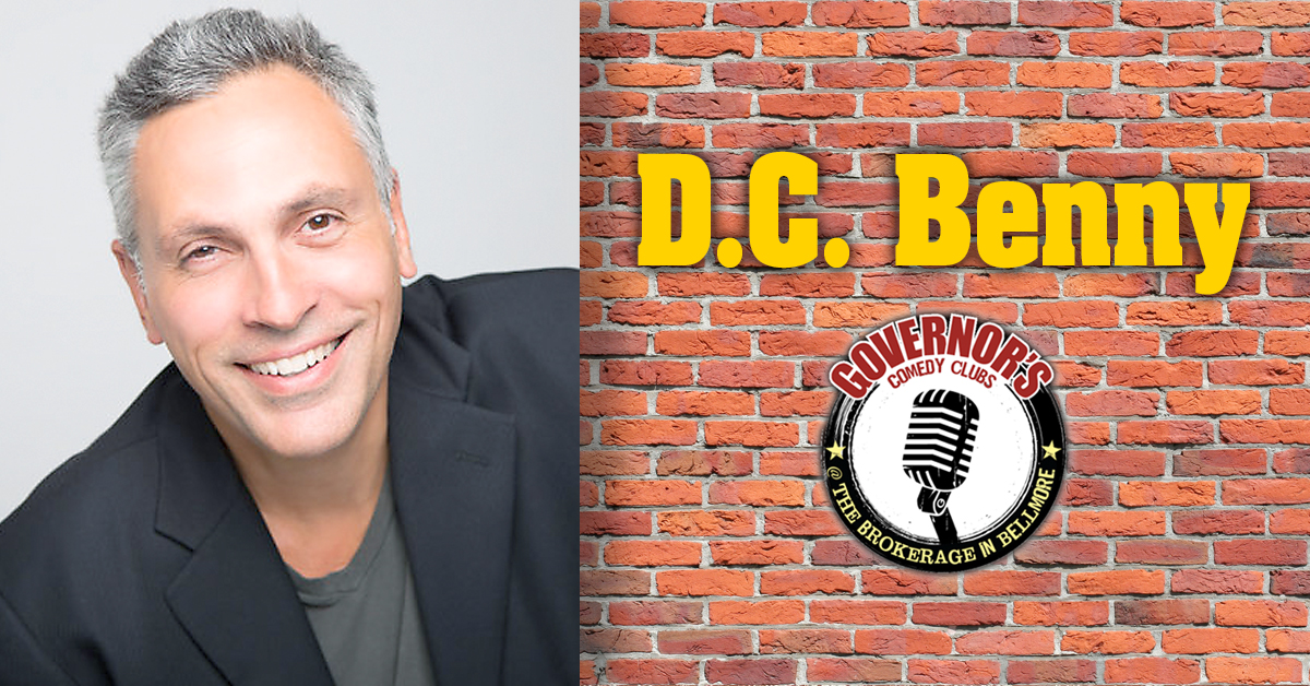 D.C. Benny at the Brokerage Comedy Club