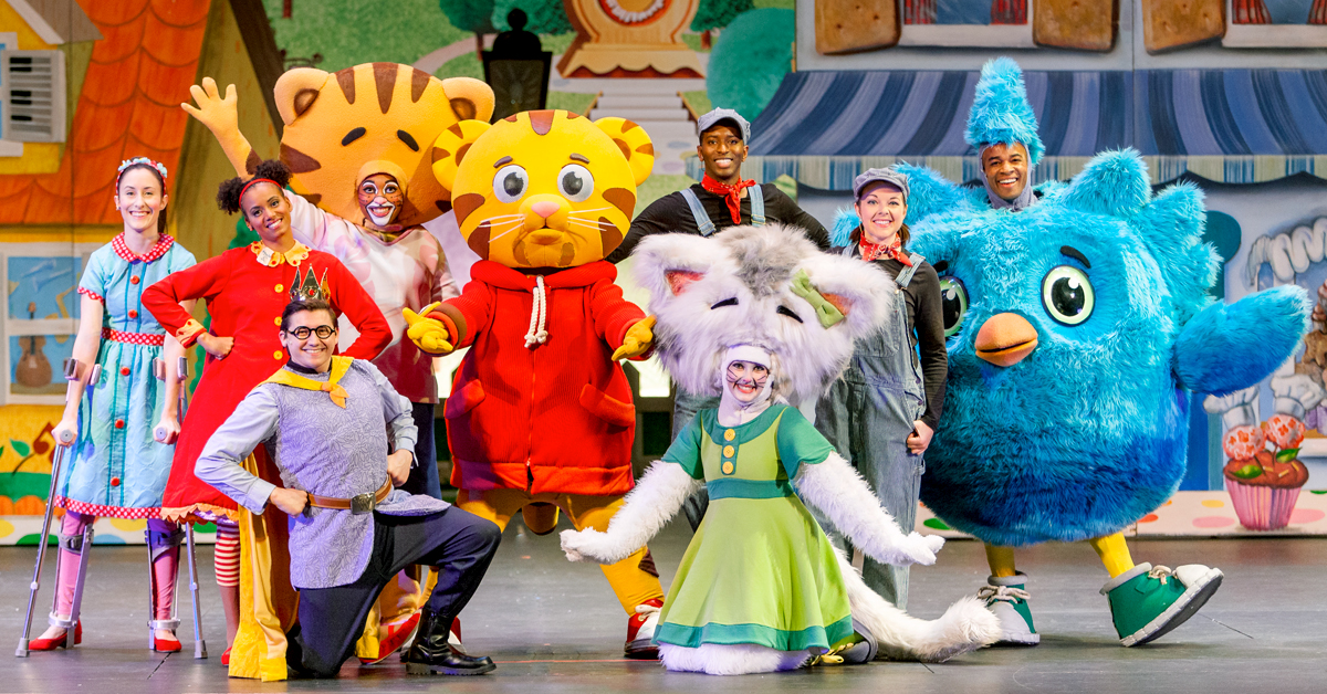 Daniel Tiger's Neighborhood Live! King for a Day at the Tilles Center