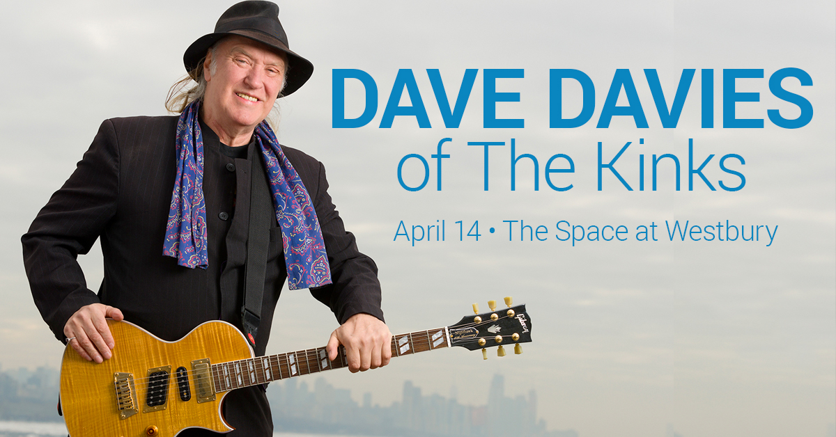 Dave Davies of The Kinks at the Space at Westbury