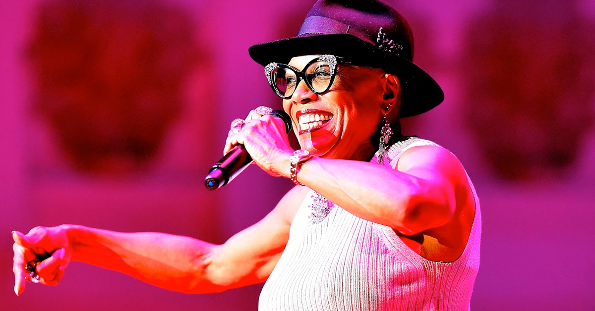 Dee Dee Bridgewater with Bill Charlap at the Tilles Center