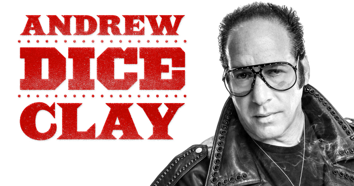 """Andrew """"Dice"""" Clay - Governors Comedy Club"""