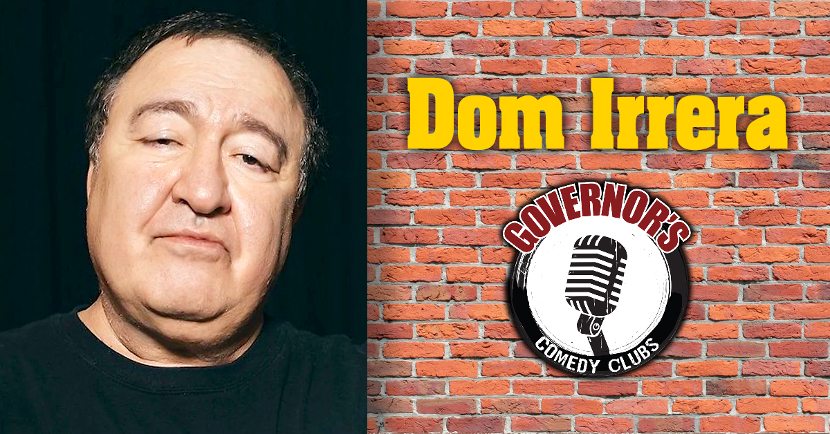 Dom Irrera at Governor's Comedy Club in Levittown