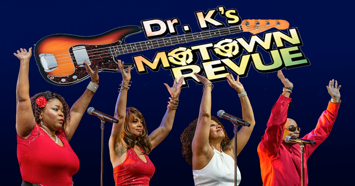 Dr. K's Motown Revue My Fathers Place at Roslyn Hotel