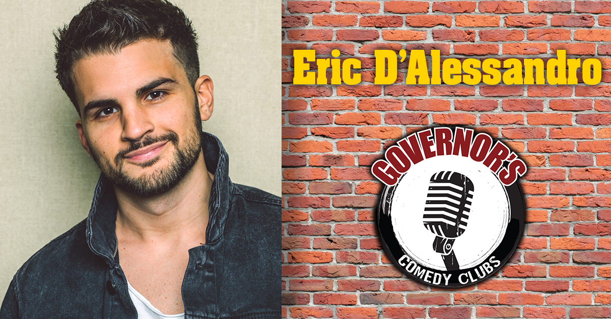 Eric D'Alessandro at Governor's Comedy Club in Levittown