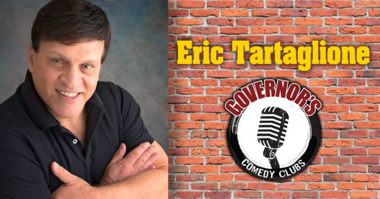 Eric Tartaglione at Governors Comedy