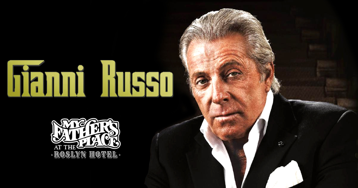 Gianni Russo at My Fathers Place Roslyn