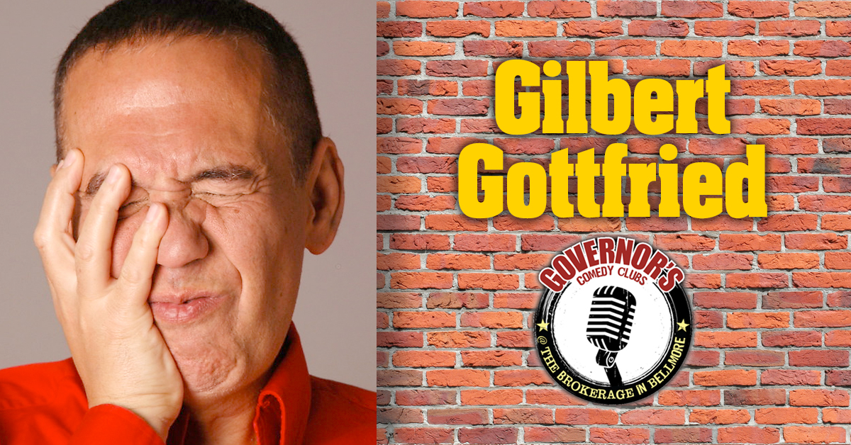 Gilbert Gottfried at The Brokerage Comedy Club