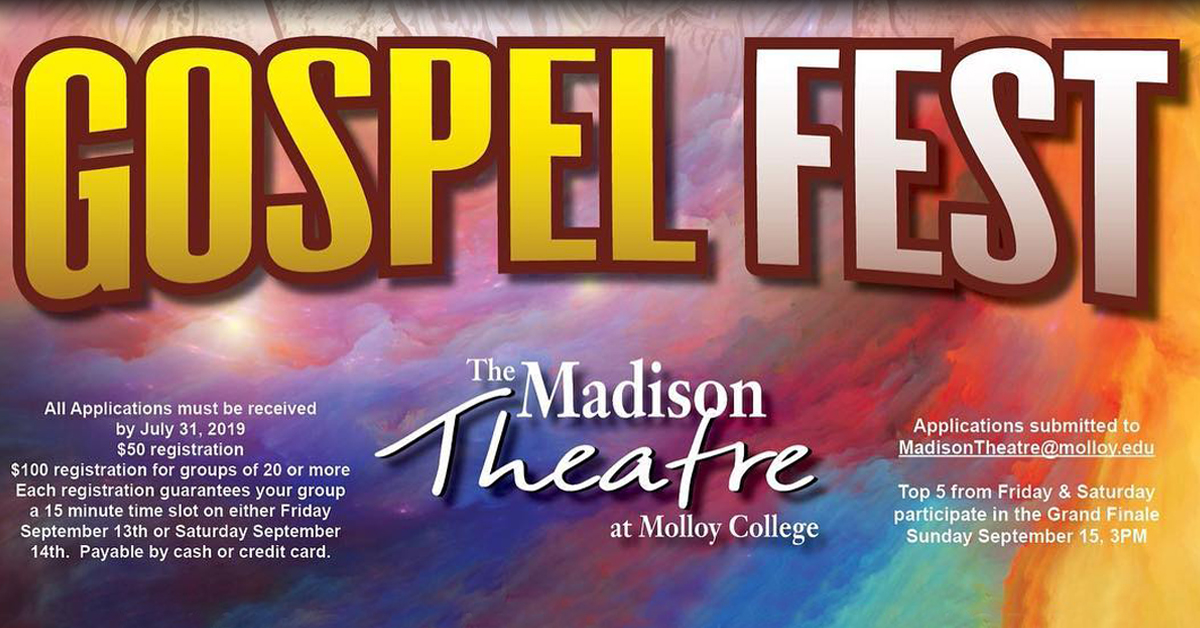 Gospel Fest 2019 at the Madison Theatre