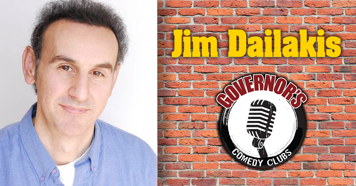 Jim Dailakis at Governors Comedy Club in Levittown