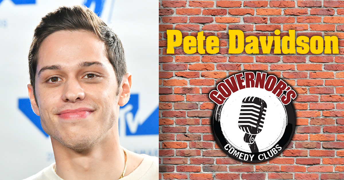 Pete Davidson at Governor's Comedy Club in Levittown