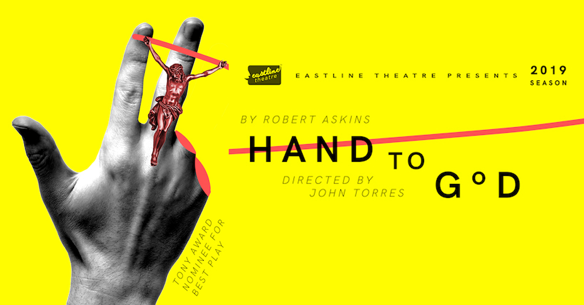 Hand To God at Eastline Theatre
