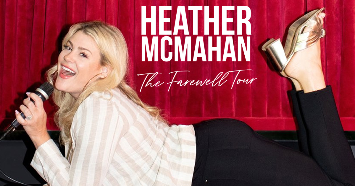 Heather McMahan at the Space at Westbury Theater