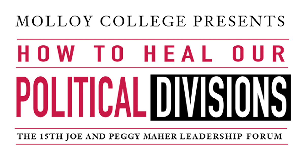 How to Heal Our Political Divisions at Molloy College