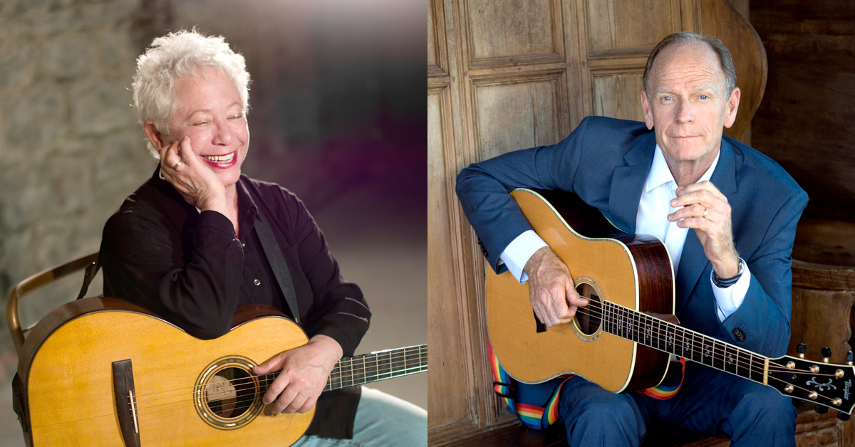 Janis Ian and Livingston Taylor at the Theatre at Westbury