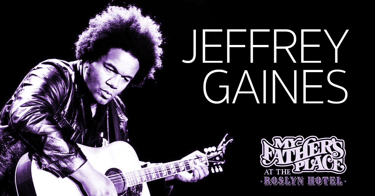 Jeffrey Gaines at My Fathers Place