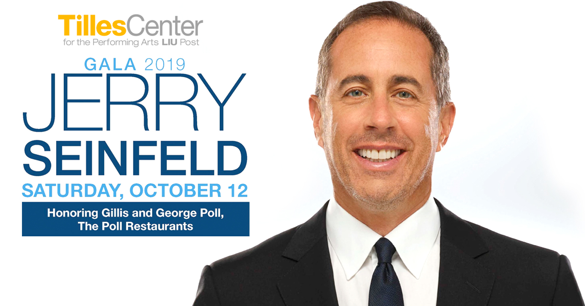 Jerry Seinfeld at the Tilles Center