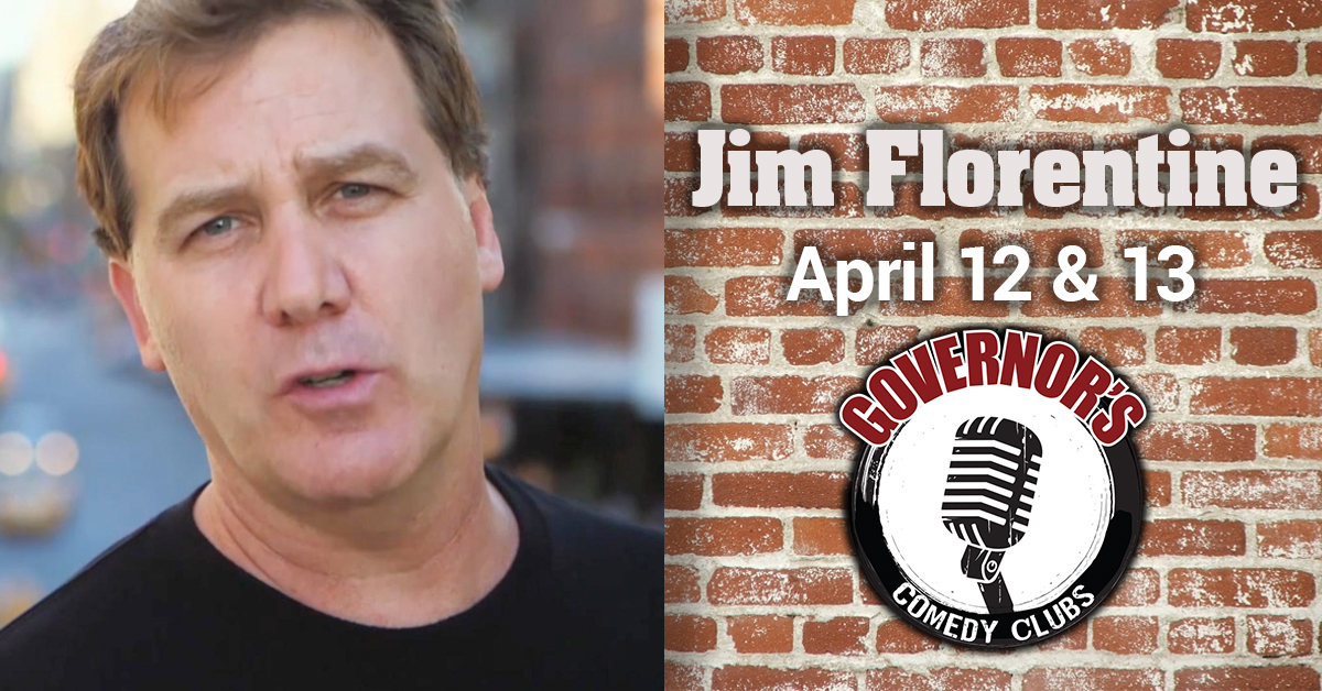 Jim Florentine at Governors Comedy Club Levittown