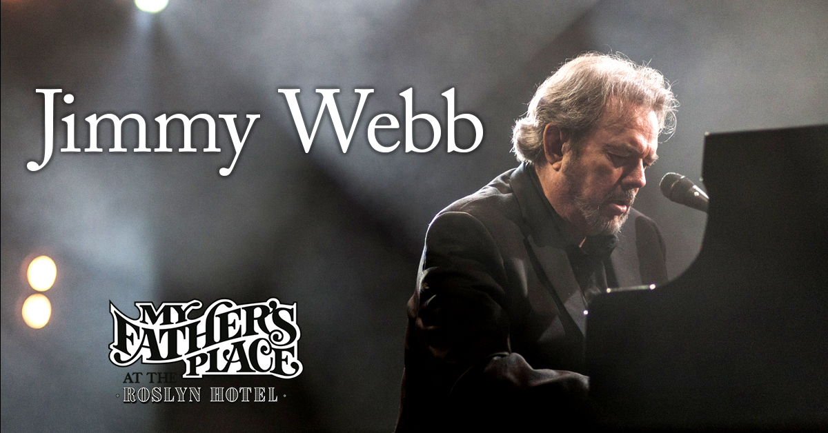 Jimmy Webb at My Father's Place at Roslyn Hotel