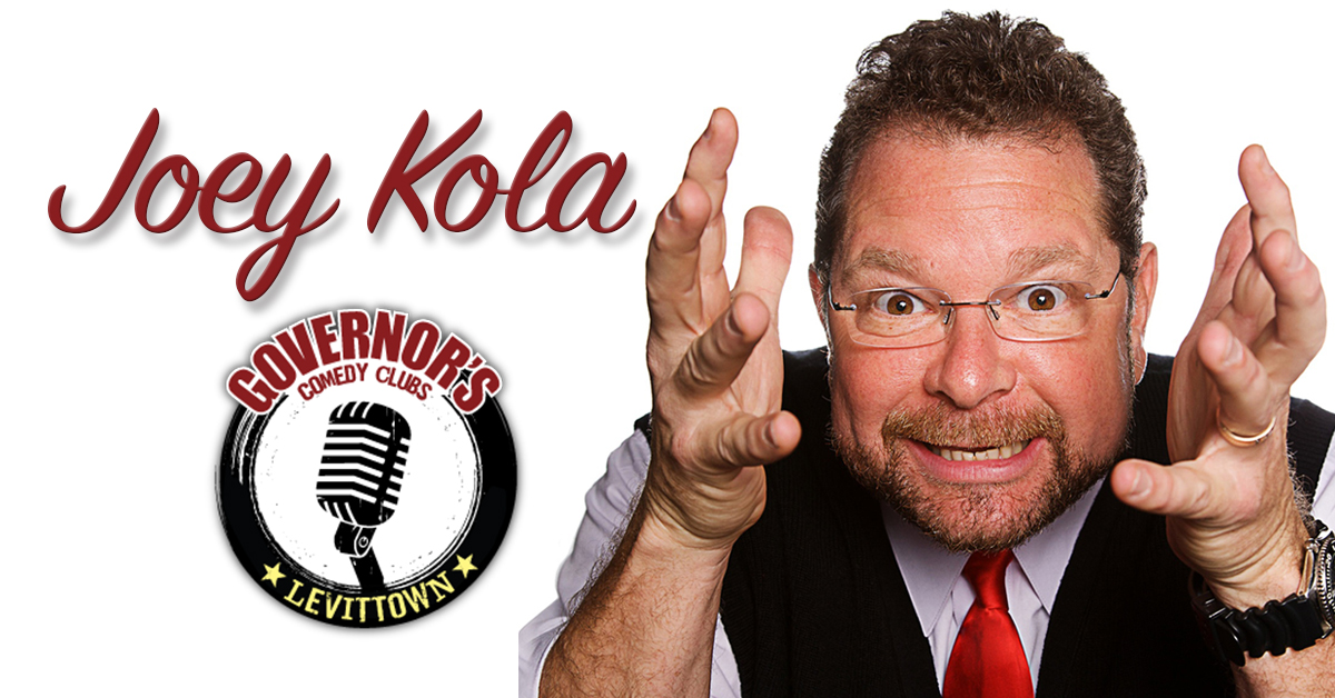 Joey Kola at Governor's Comedy Club in Levittown