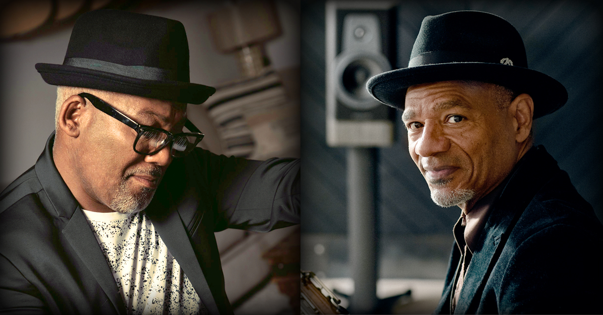 Jonathan Butler and Kirk Whalum at the Madison Theatre