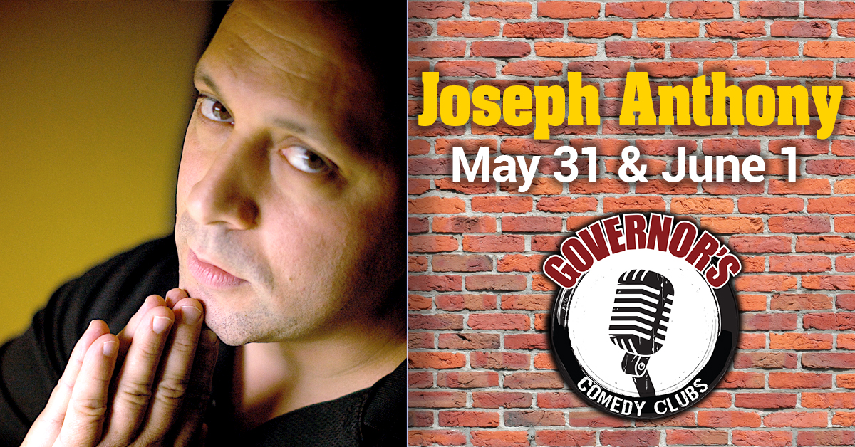 Joseph Anthony at Governor's Comedy Club in Levittown