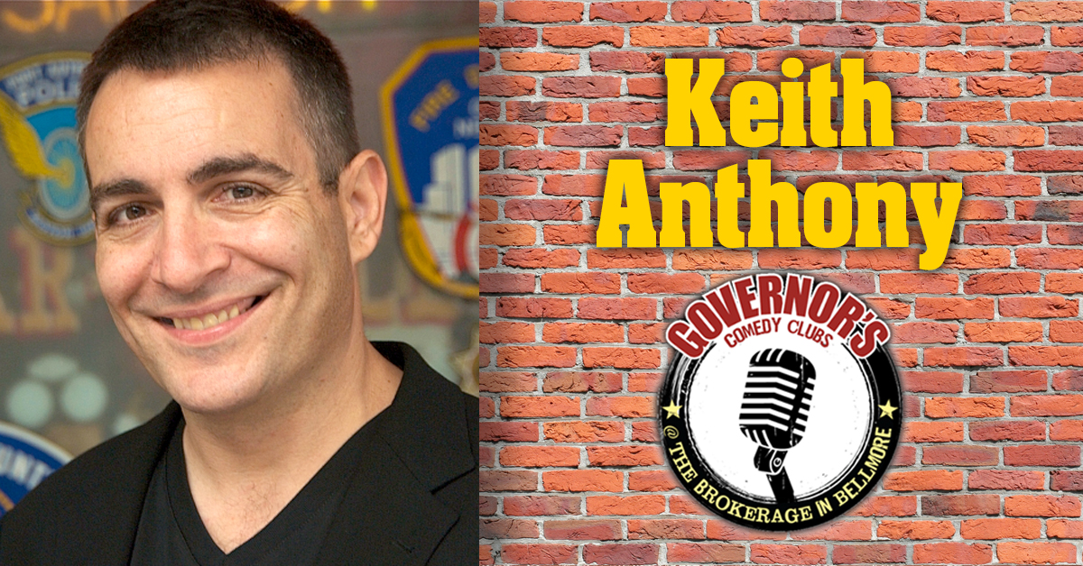 Keith Anthony at The Brokerage in Bellmore