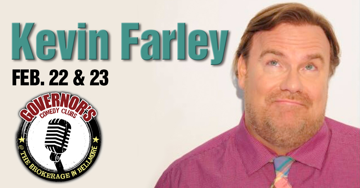 Kevin Farley at Governor's Comedy Club Bellmore