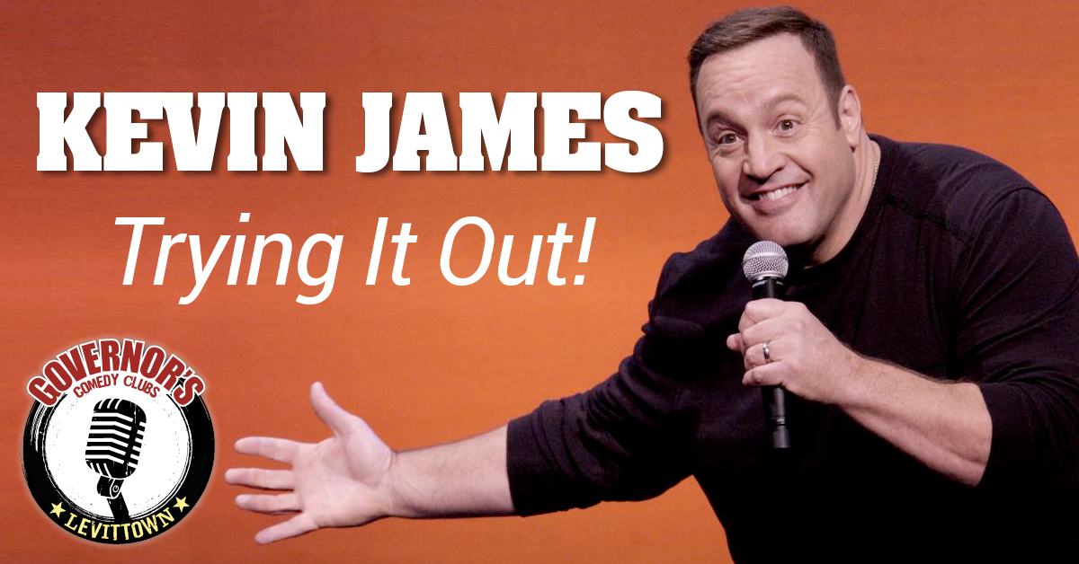Kevin James Governors Comedy Levittown