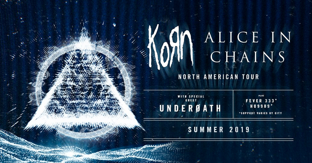 Korn and Alice In Chains at Jones Beach, Wantagh