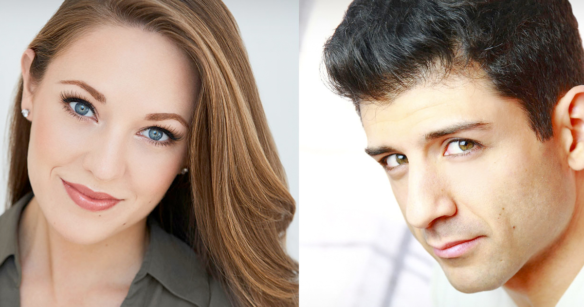 Laura Osnes & Tony Yazbeck at Landmark On Main Street