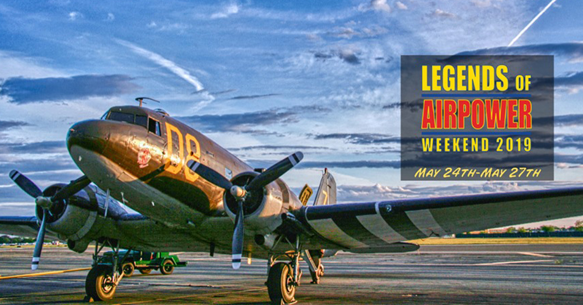 Legends of Airpower Weekend 2019