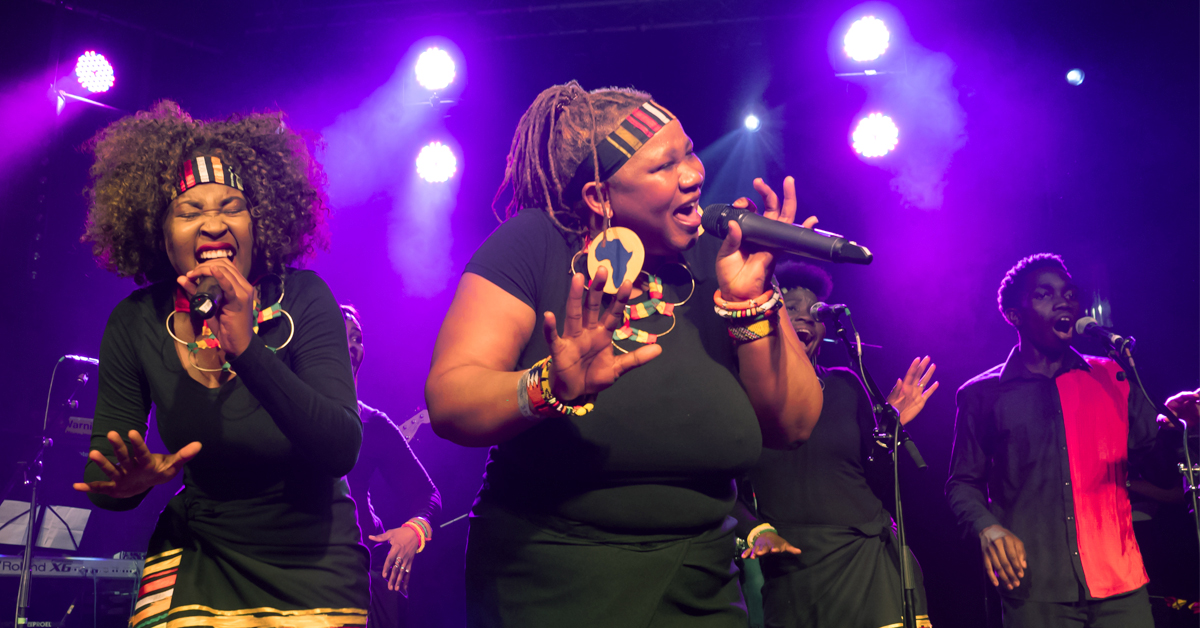 London African Gospel Choir at the Theatre at Westbury