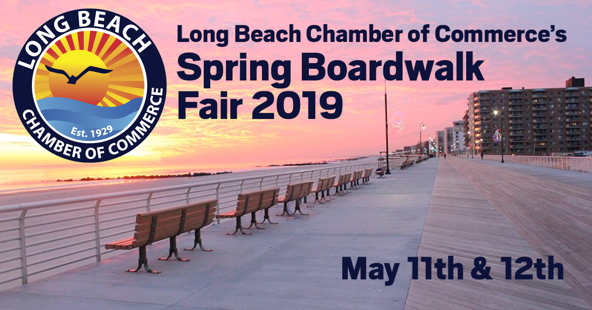 Long Beach Chamber of Commerce's Spring Boardwalk Fair 2019