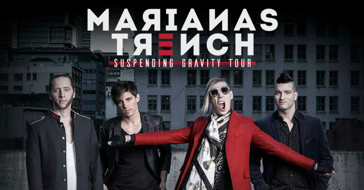 Marianas Trench – Suspending Gravity Tour at the Tilles Center