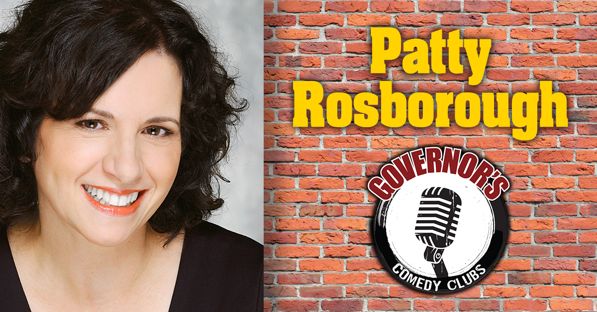 Patty Rosborough at Governors Comedy Club