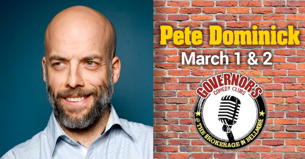 Pete Dominich at The Brokerage in Bellmore